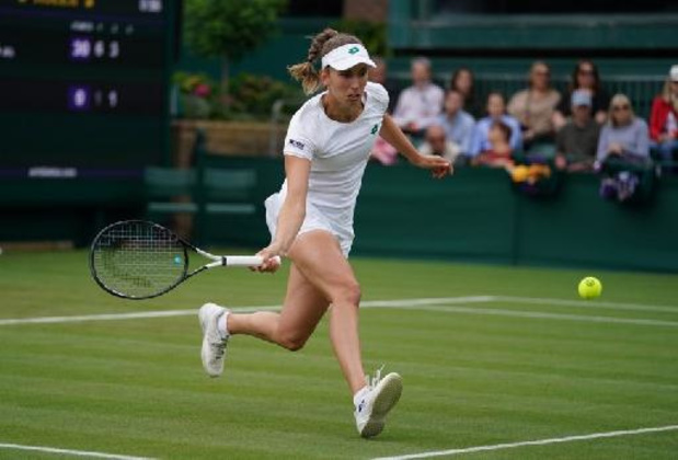 Elise Mertens bereikt derde ronde op Wimbledon