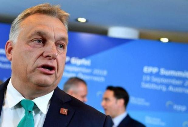 Orban trekt Europarlementsleden terug uit grootste fractie in Europees Parlement