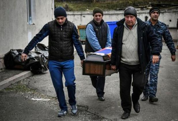 Conflict Nagorno-Karabach: Azerbeidzjan en Armenië wisselen 200 gesneuvelde soldaten uit