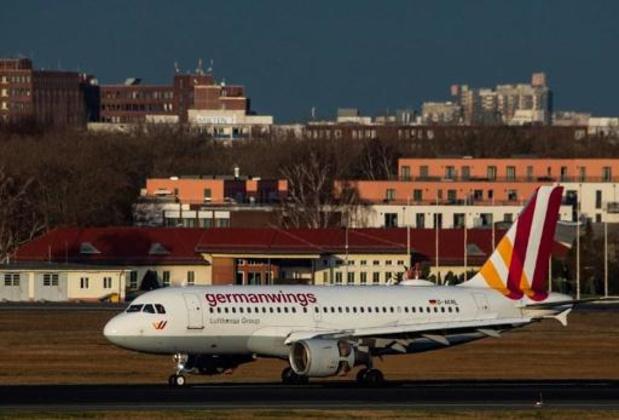 Soixante vols Germanwings encore annulés mardi en raison d'une grève