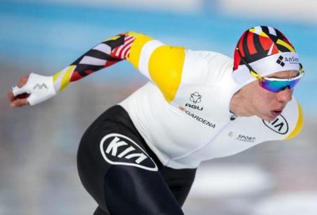 Euro de patinage de vitesse - Bart Swings juge sa première journée insuffisante