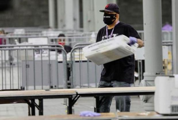 Congres - Meer dan 4,4 miljoen Amerikanen daagden op om te stemmen in Georgia