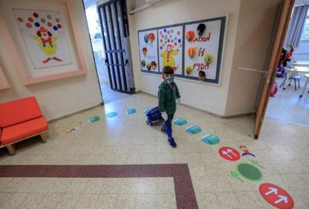 Israël heropent de scholen volledig