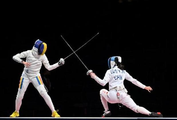 Escrime: la Chinoise Sun Yiwen sacrée championne olympique à l'épée