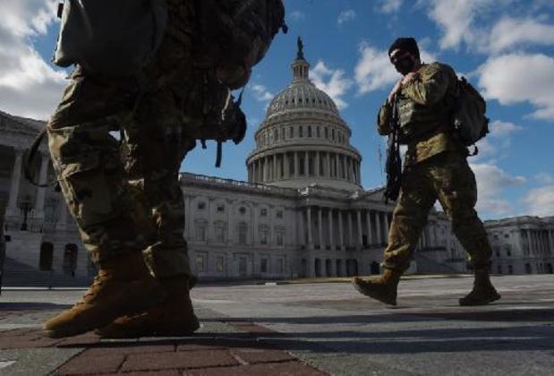 Nationale Garde bewaakt Capitool niet langer