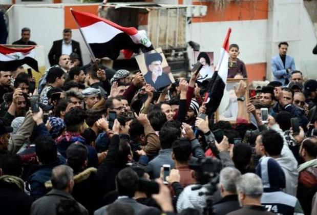 Opnieuw duizenden Irakezen op straat