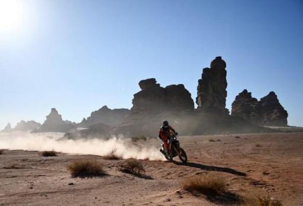 Dakar 2020: Toby Price remporte la 5e étape en motos