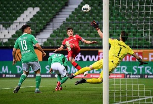 Bundesliga - Le Bayer Leverkusen facile vainqueur d'un Werder Brême plongé dans le doute
