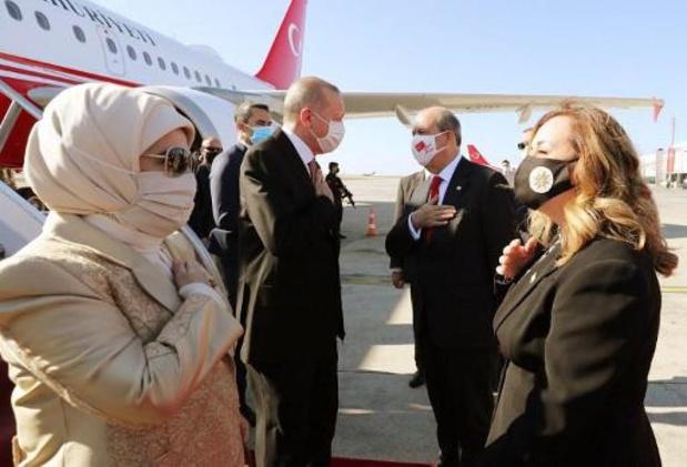 """Chypre: Erdogan appelle à des pourparlers sur la base de """"deux États séparés"""""""