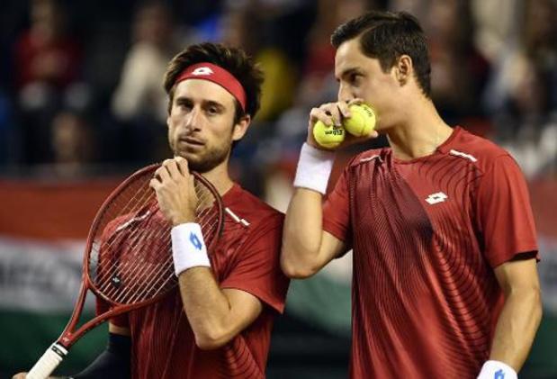 ATP Cincinnati - Sander Gillé et Joran Vliegen éliminés au 1er tour du double