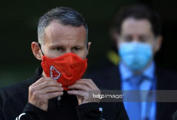 Kwal. WK 2022: Ryan Giggs zit ook tegen Rode Duivels niet op de bank als bondscoach van Wales