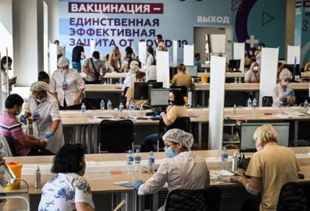 Rusland heeft nieuw dagrecord corona-overlijdens