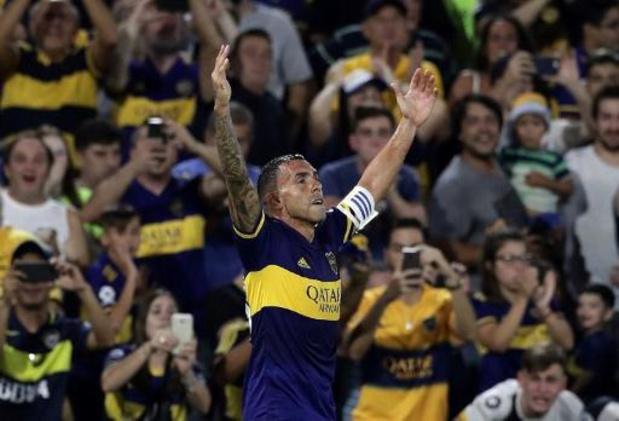 Carlos Tevez offre le titre de champion d'Argentine à Boca Juniors