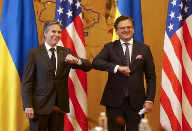 """Blinken réaffirme le soutien américain à """"la souveraineté et l'intégrité"""" de l'Ukraine"""