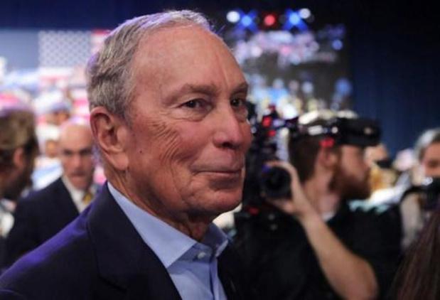 Democraat Michael Bloomberg zet campagne voor Witte Huis stop