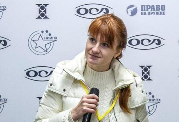 Van spionage beschuldigde Russische vrouw vrijgelaten uit Amerikaanse cel