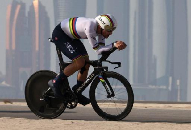 UAE Tour - Filippo Ganna blijft ongeslagen