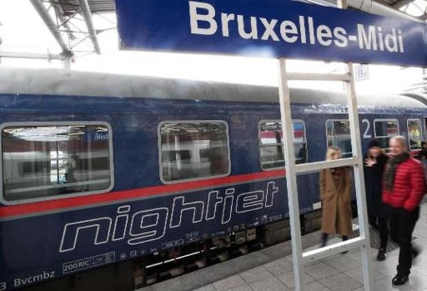 Des trains de nuit pourraient relier Bruxelles et Paris et Berlin en 2023