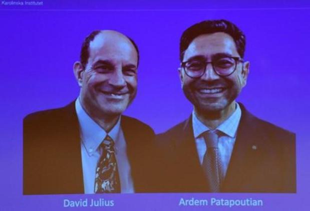 Le Nobel de Médecine attribué aux Américains David Julius et Ardem Patapoutian