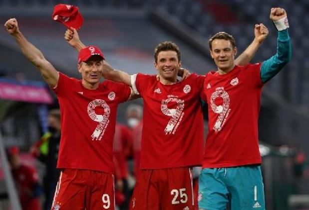 Bundesliga - Bayern scelle son titre en atomisant Mönchengladbach