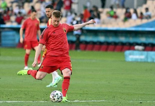De Bruyne start tegen Italië maar geen E. Hazard, Doku in de basis