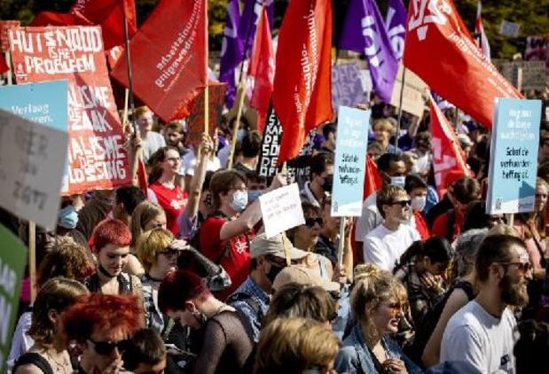 Les Néerlandais protestent contre la crise du logement
