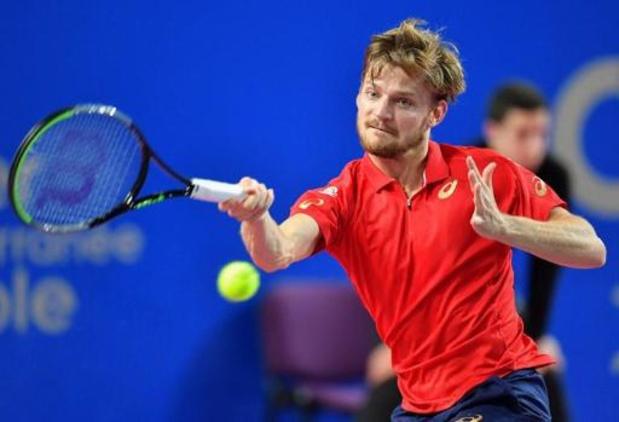 Ultimate Tennis Showdown - David Goffin éliminé par Stefanos Tsitsipas en demi-finale