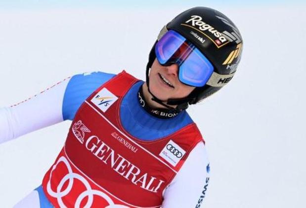 Lara Gut-Behrami remporte la médaille d'or sur le Super-G