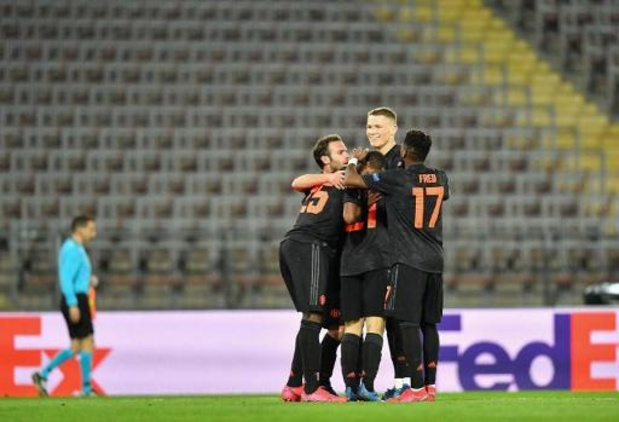 Man United maakt terugmatch in Europa League overbodig na 0-5 zege in Linz