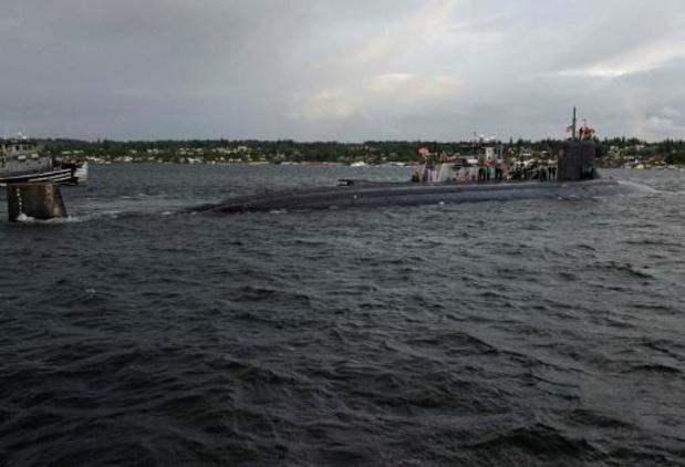 Amerikaanse kernonderzeeër beschadigd bij botsing onder water