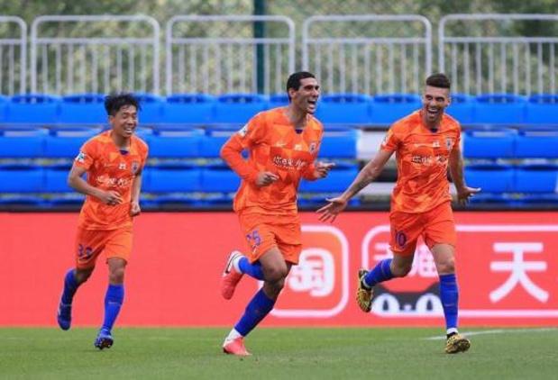 Marouane Fellaini sorti blessé dès la 12e minute en Super League chinoise