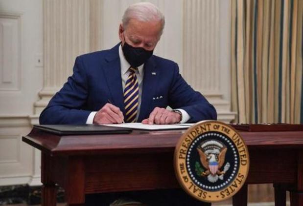 Joe Biden had onderhoud met Mexicaanse president over migratie