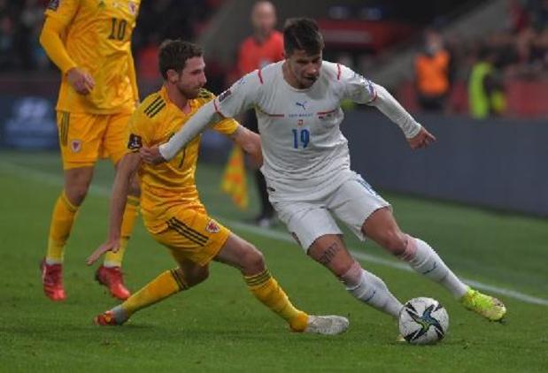 Kwal. WK 2022 - Tsjechië en Wales houden elkaar in evenwicht in strijd om tweede plaats achter Duivels