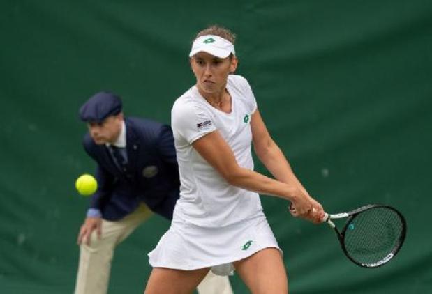 Elise Mertens au 2e tour du double à Wimbledon