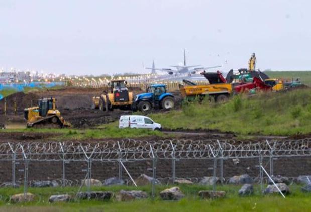 L'allongement de la piste de l'aéroport de Charleroi finalisé en octobre 2021