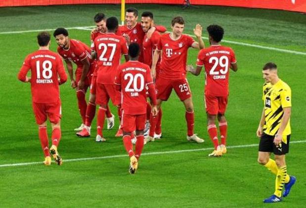 Belgen in het buitenland - Bayern wint Der Klassiker met 2-3 in Dortmund