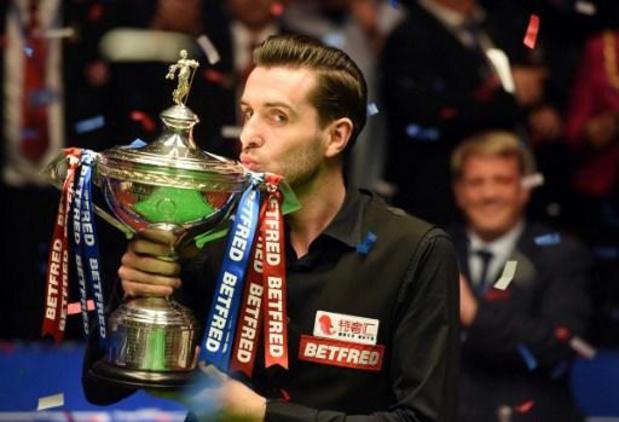 WK snooker - Mark Selby op een drafje naar achtste finales