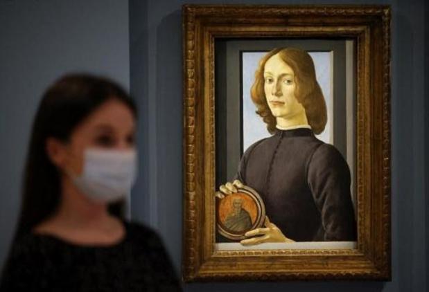 Meesterwerk Botticelli geveild voor 92 miljoen dollar