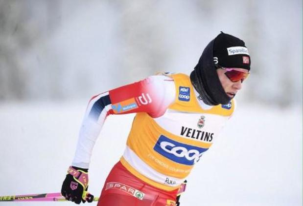 Le champion olympique de ski de fond Johannes Klaebo s'engage dans une équipe cycliste