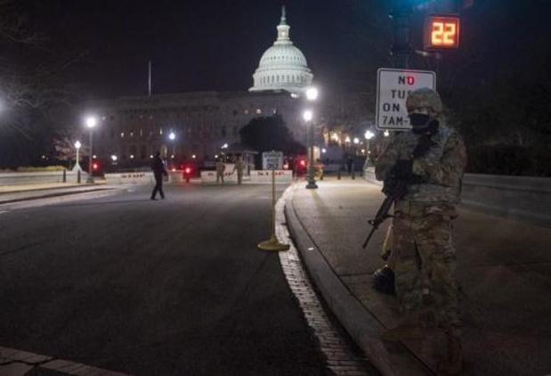 Transitie Biden: Nationale Garde mag in Washington wapens dragen