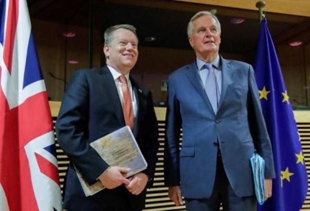 Reprise ce soir de difficiles négociations entre l'UE et Londres