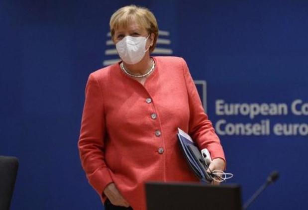 Angela Merkel recevra mardi la cheffe de l'opposition bélarusse