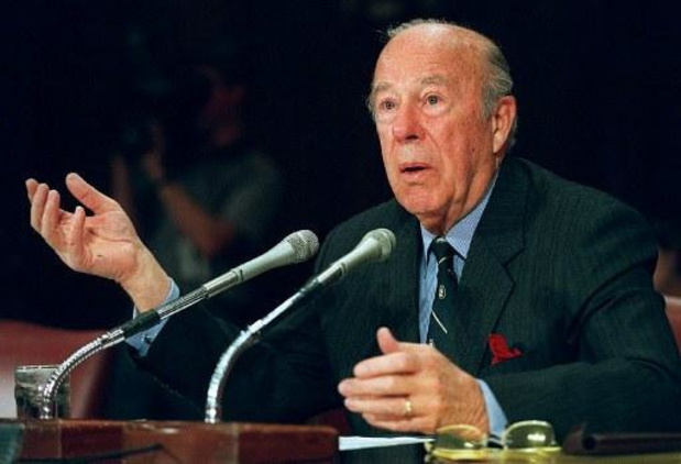 Voormalig Amerikaans buitenlandminister George Shultz overleden