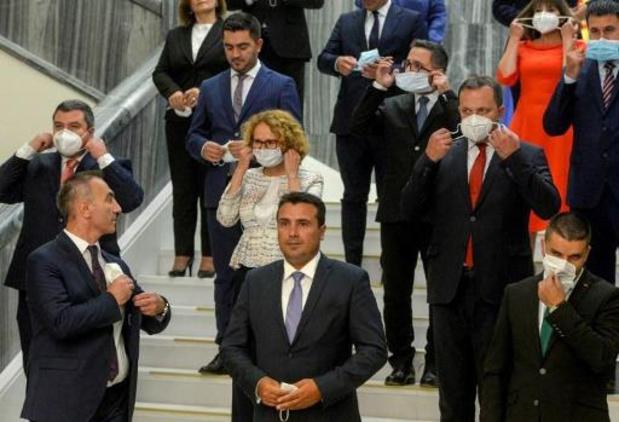 Sociaaldemocraat Zaev herkozen als premier van Noord-Macedonië