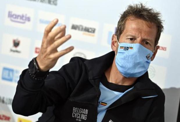 Championnats d'Europe de cyclisme - Verbrugghe ne dirigera plus les Belges à l'Euro après avoir quitté la bulle de l'équipe