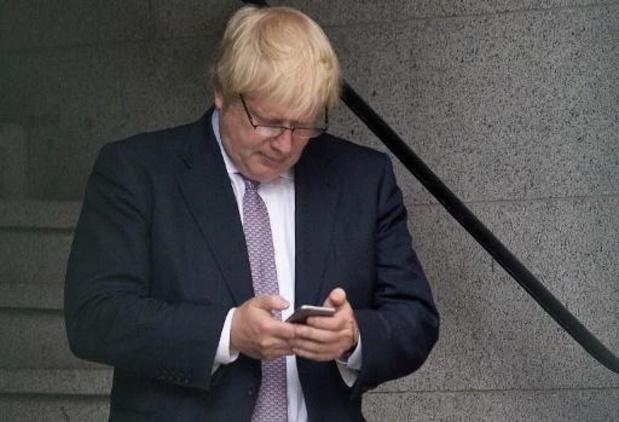 Telefoonnummer Boris Johnson al 15 jaar op internet te vinden
