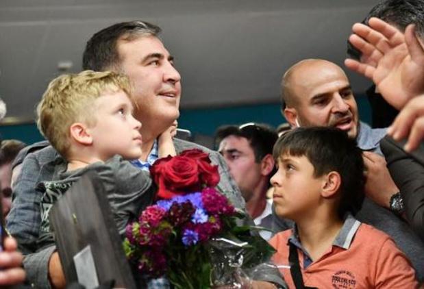 Vroegere Georgische president Saakasjvili zegt dat hij vicepremier wordt in Oekraïne