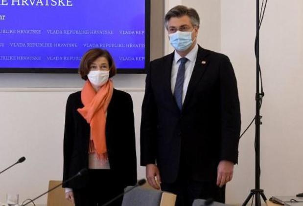 Kroatische premier Plenkovic besmet met corona