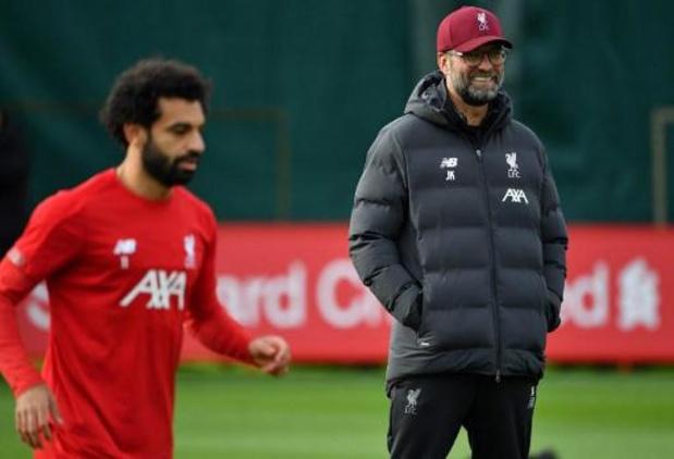 Mohamed Salah, incertain, a fait le voyage à Genk