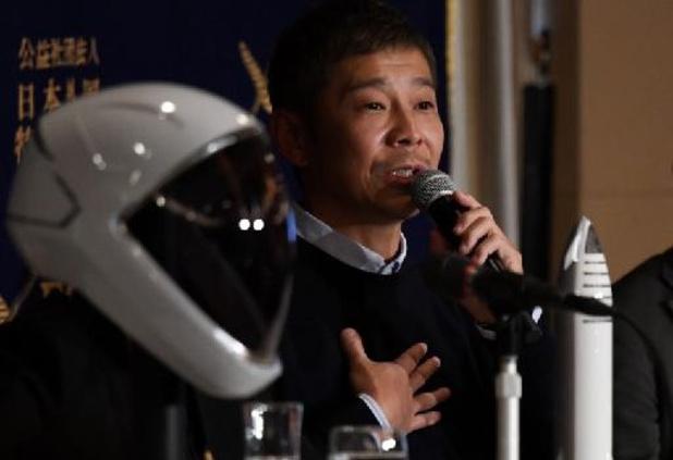 Rusland lanceert Japanse miljardair Maezawa naar ruimtestation ISS